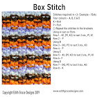 Knitting Stitch - Box Stitch