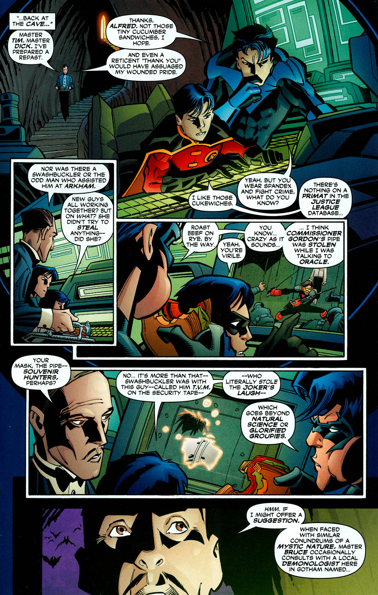 Read online Trinity (2008) comic -  Issue #10 - 25