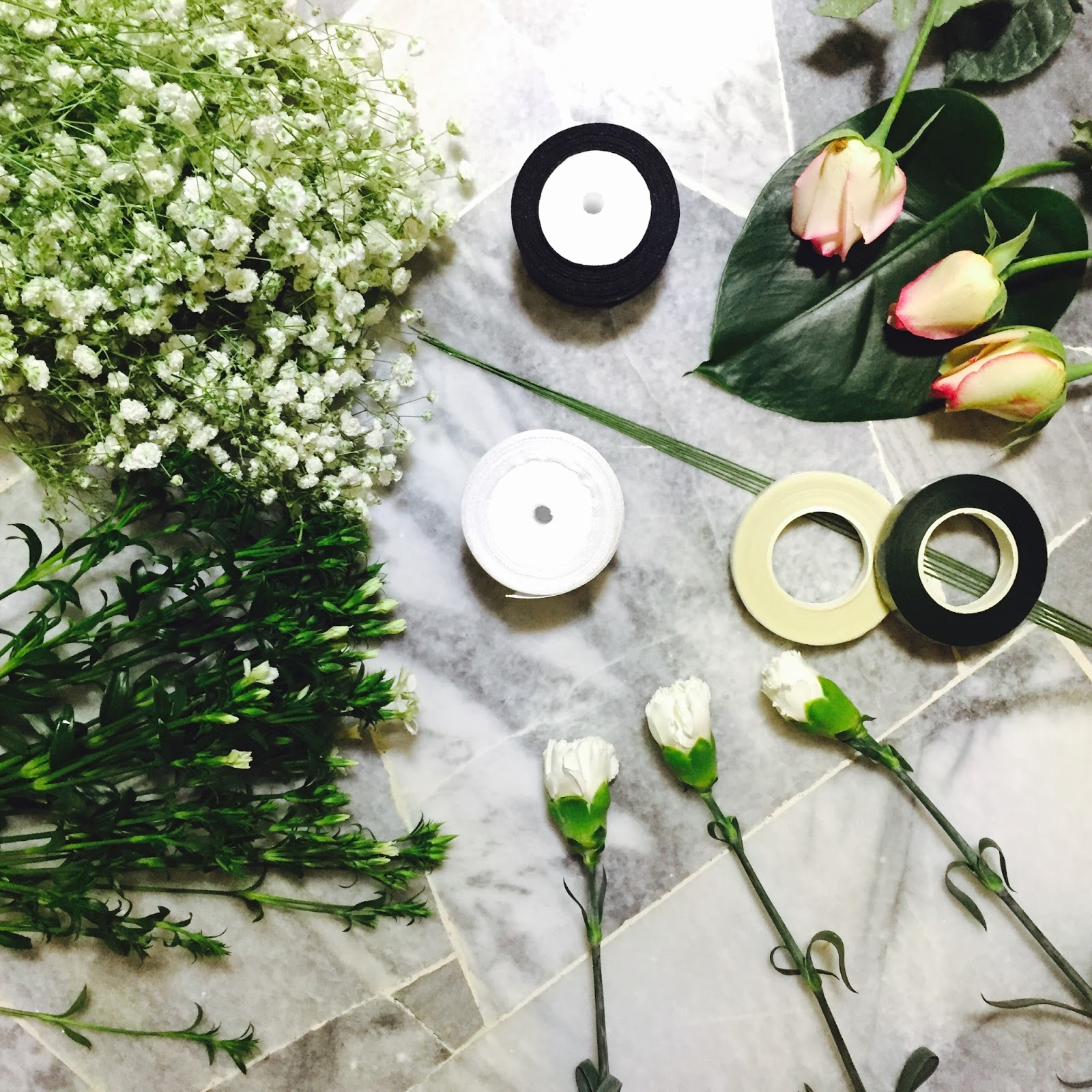 How To Make Your Own Fresh Flower Crown Nadia Izzaty