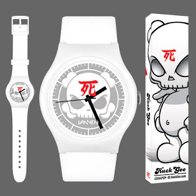 """The Blank"" Limited Edition Artist Watch by Huck Gee x Vannen Watches"