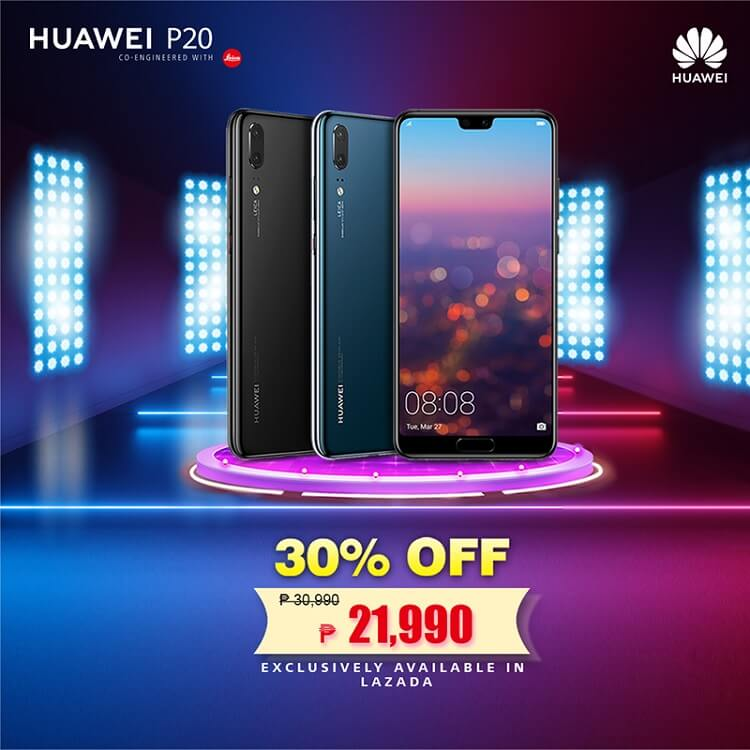 Huawei P20 to Get a Price Drop in Lazada!
