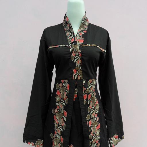 Update lagi model baju batik muslim terbaru aneka warna