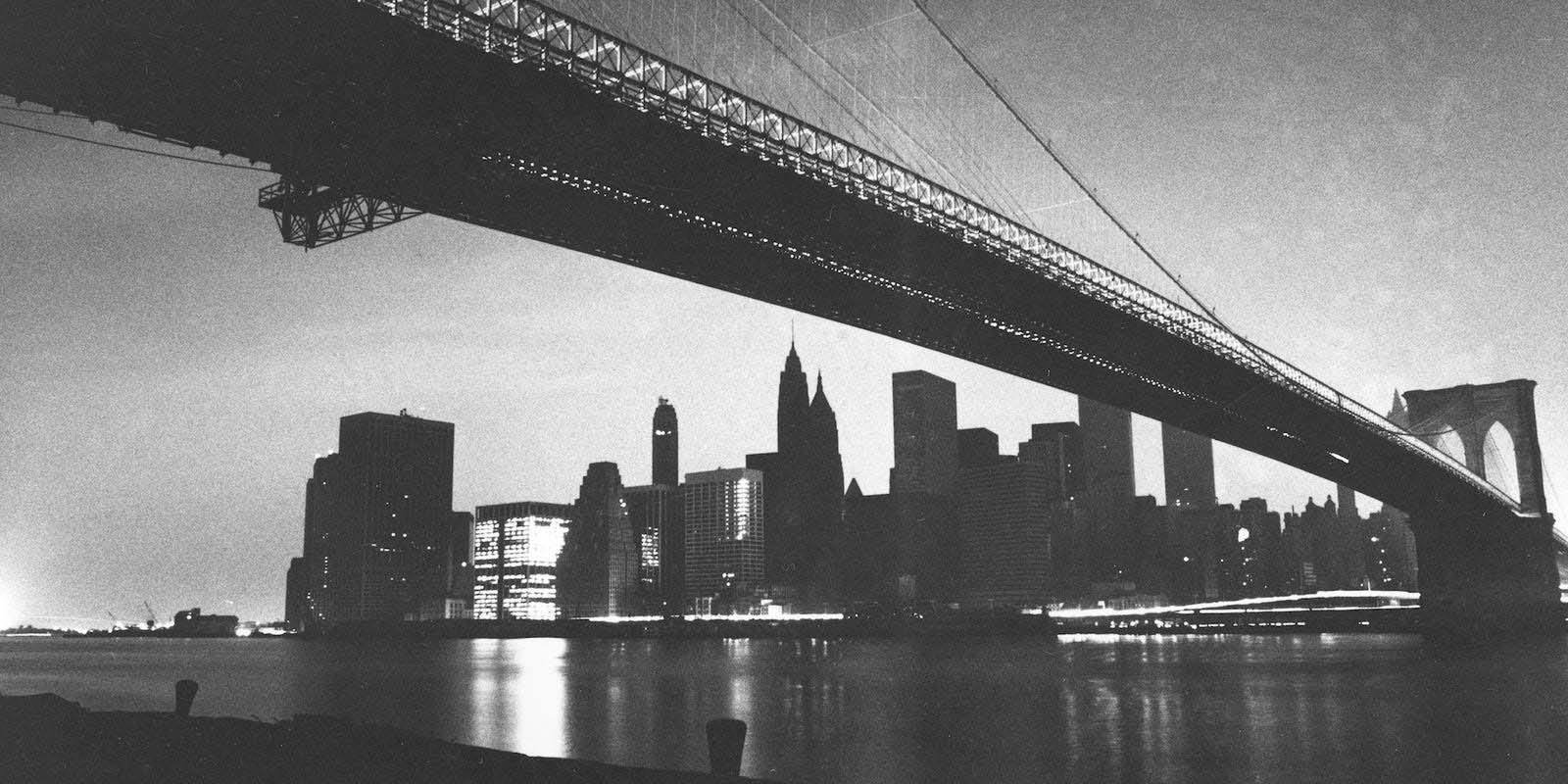 New York City during the blackout of July 13, 1977.