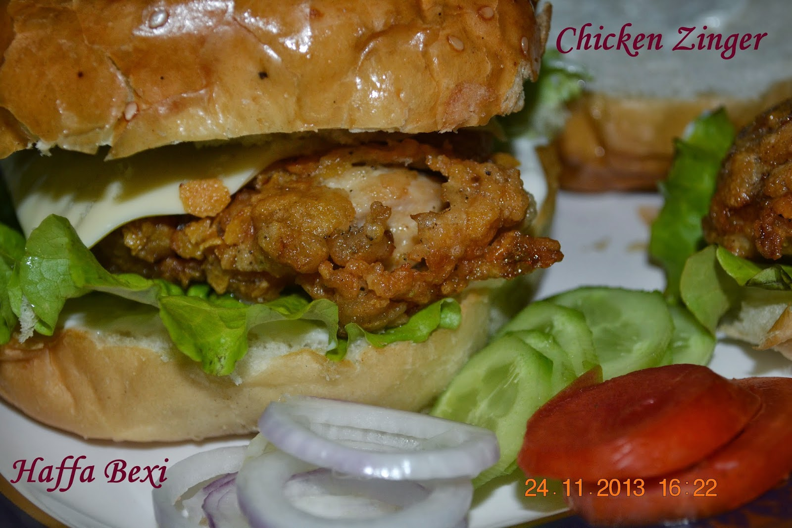 Zinger Burger Recipe | Dandk Organizer