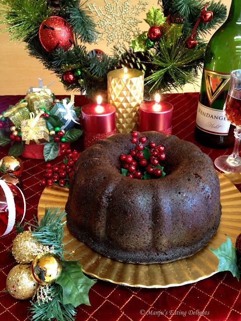 Traditional Christmas Cake Recipe With No Peel