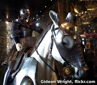 Image of a knight by Gideon Wright, flickr.com CC-BY 2.0