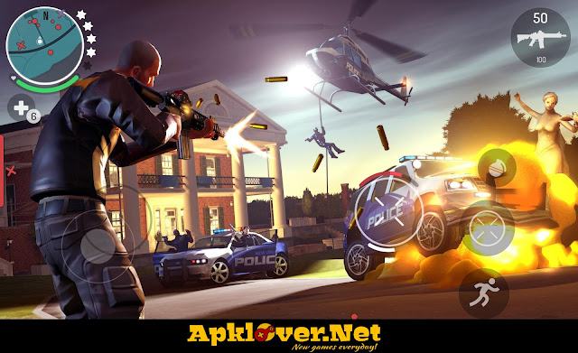 Gangstar New Orleans MOD APK Unlimited ammo