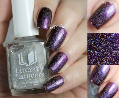 Literary Lacquers Love (over Orgasm) | The Nailed Collection