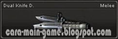 Senjata Point Blank Dual Knife D.