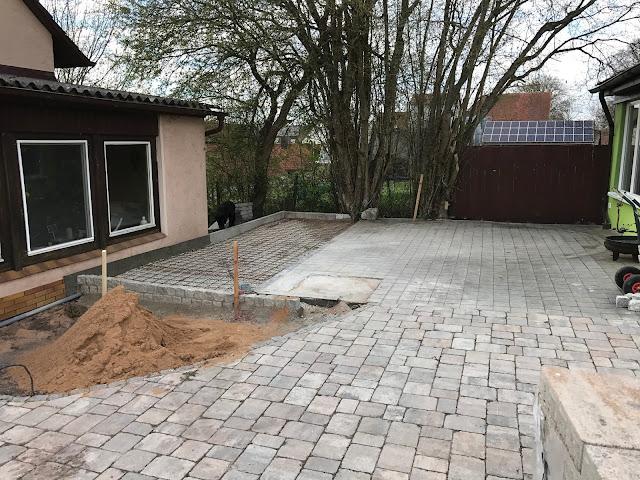 Terrasse vorbereitet zum Betonieren (c) by Joachim  Wenk