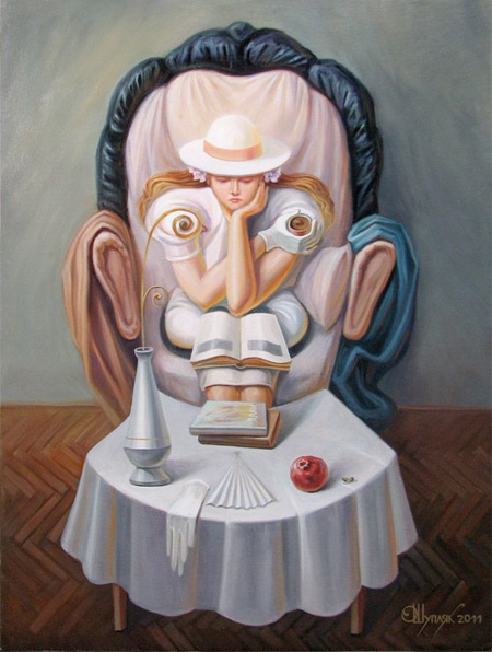 optical illusions painting
