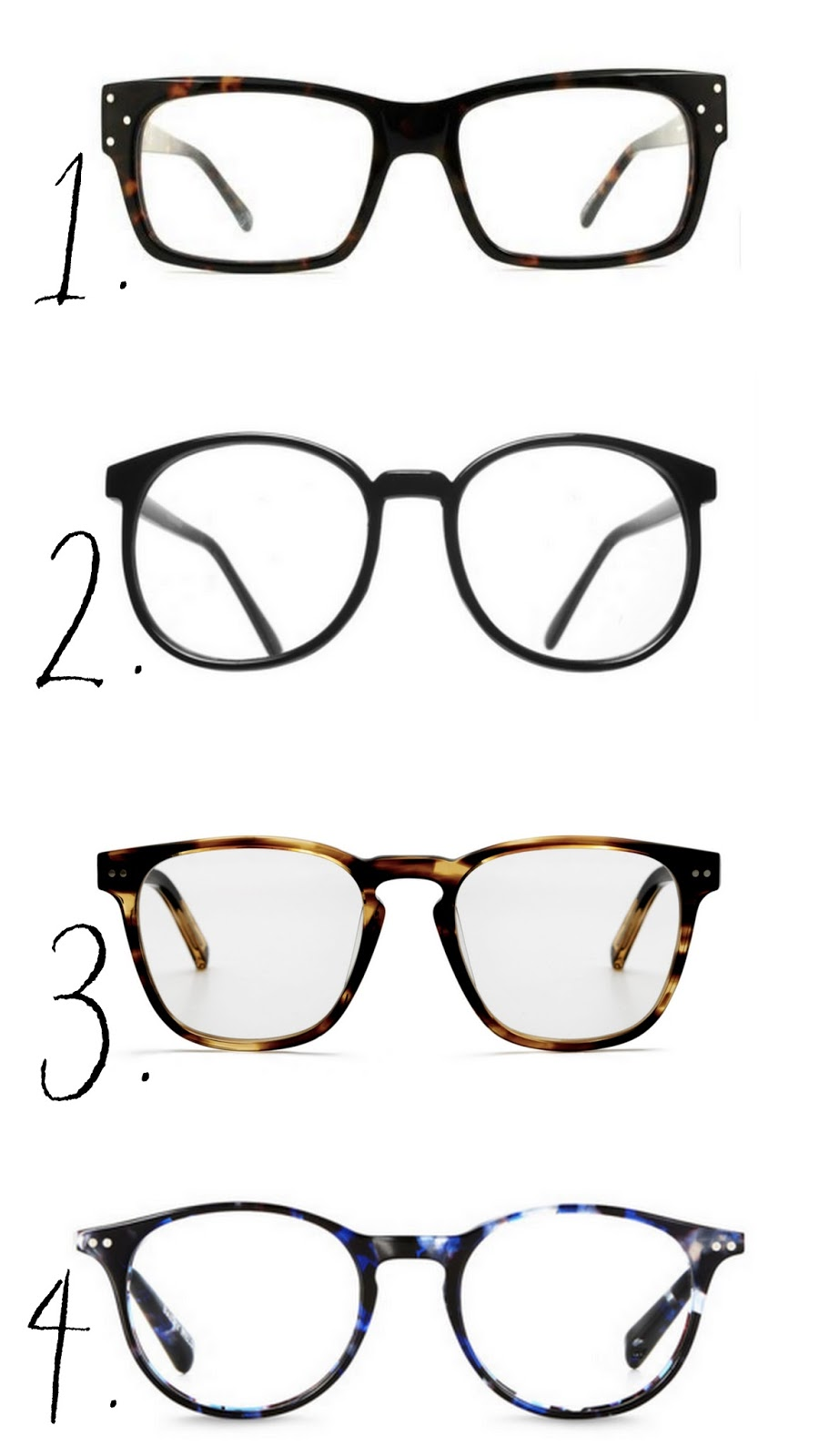 Cool girl, cool glasses - The Frugality Blog