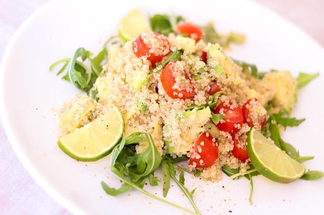 quinoa- salad