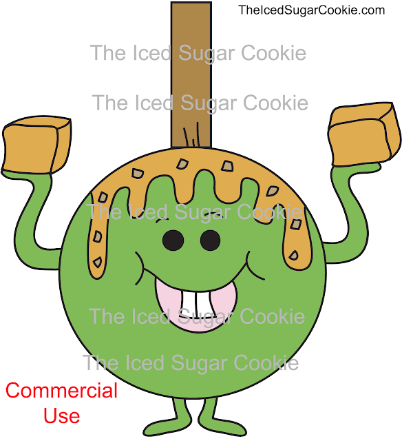 https://www.theicedsugarcookie.com/products/green-red-apple-caramel-crunch-illustration-cartoon-clipart-commercial-use-digital-download