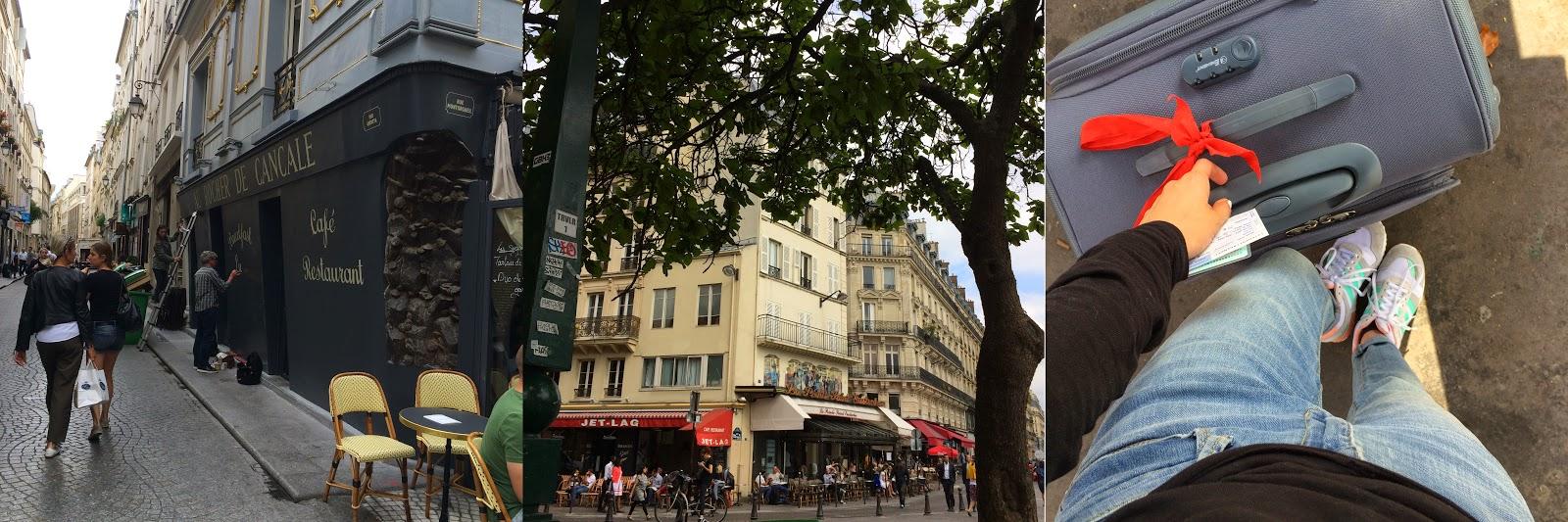 Poslední odpoledne v Paříži  (   domů v nových teniskách Adidas ZX700 d967b3551f