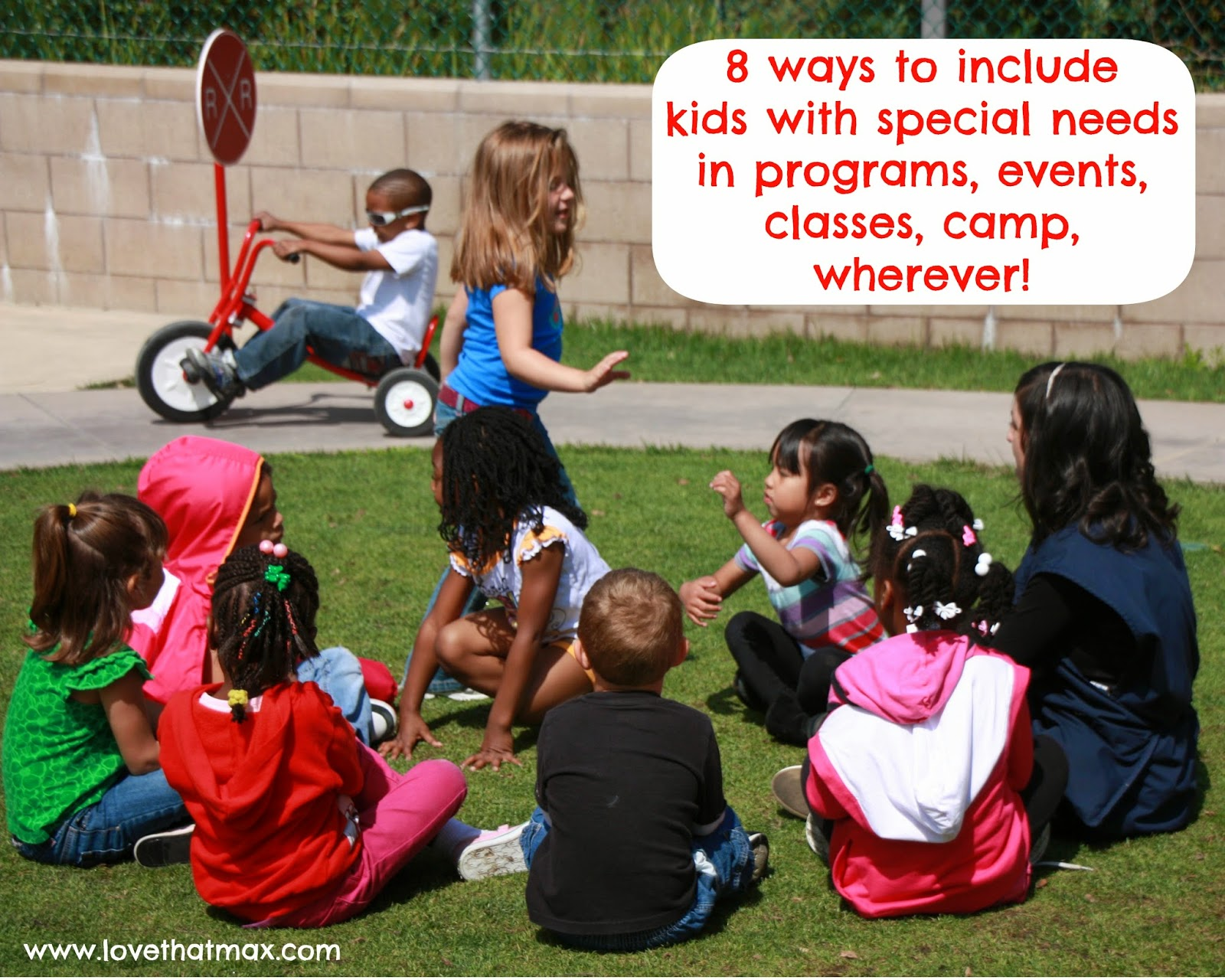 Love That Max 8 Ways To Include Kids With Disabilities