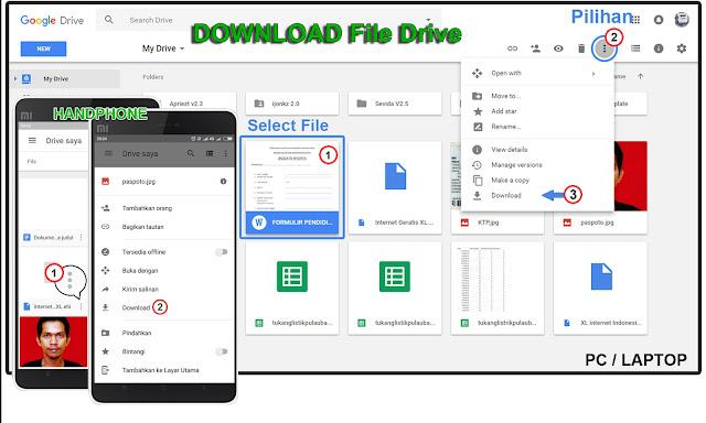 Download File Dari Google Drive