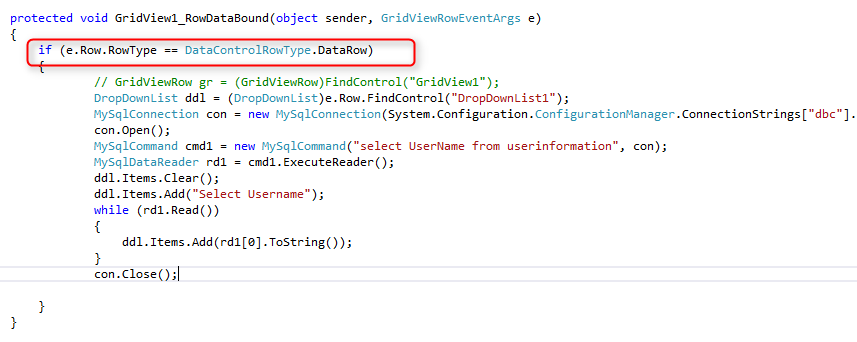 Below Code For Gridview Itemtemplate Bind Coding