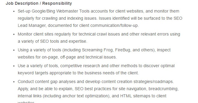 Dhaka Jacos Co Ltd Post Title SEO Specialist Job Circular – Job Description for Webmaster