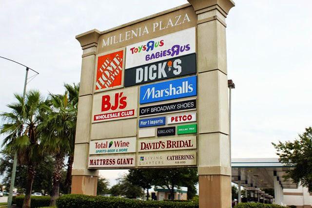 Centro de compras Millenia Plaza em Orlando