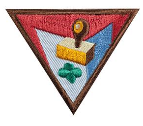 earn brownie girl scout letterboxing badge