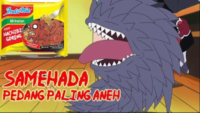 Dari ketujuh Pedang legendaris Kirigakure 5 Alasan Kenapa Samehada ialah Pedang Paling Aneh di jagad anime!!!