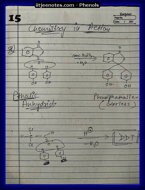 Phenol Notes 1