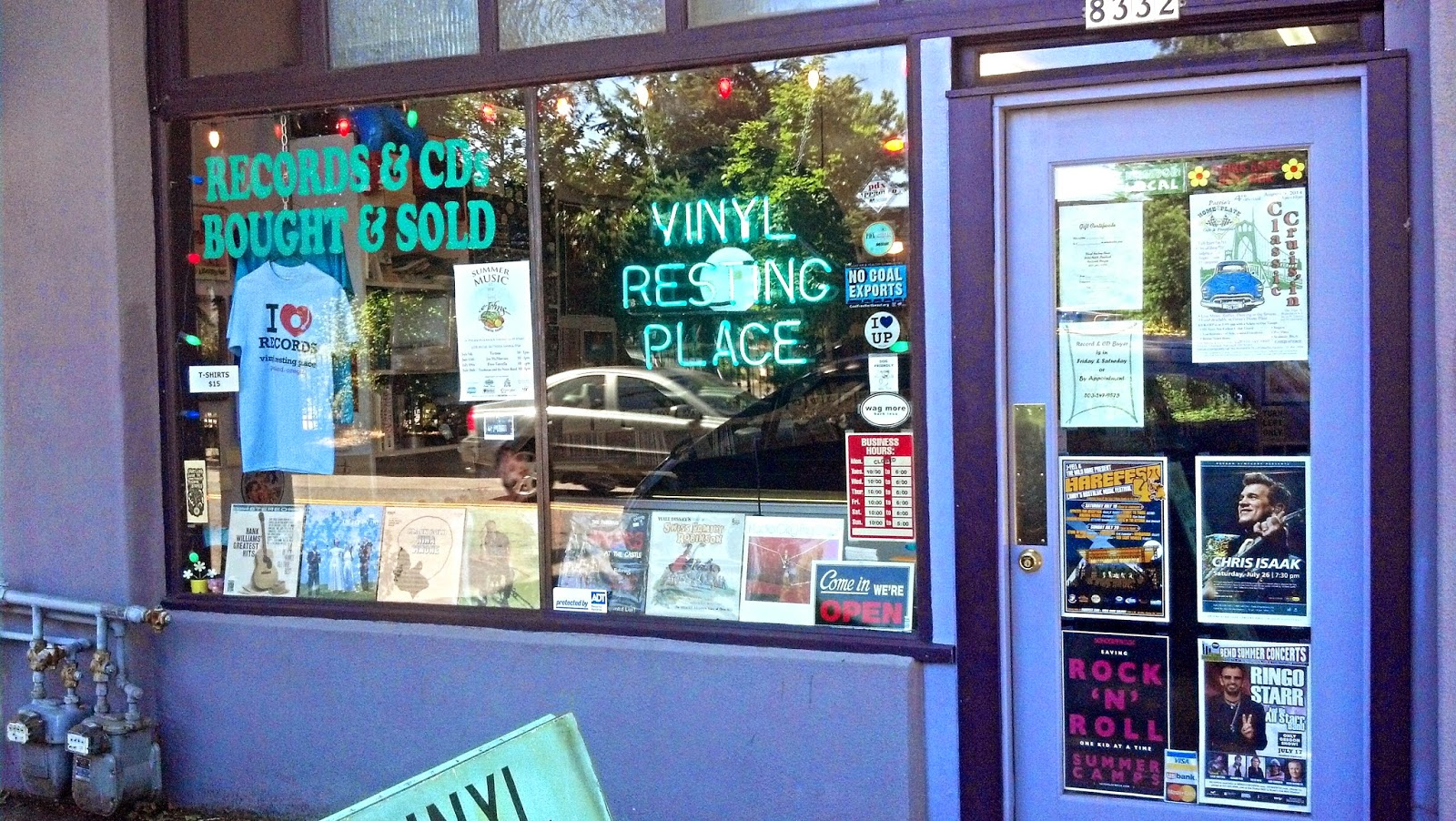 January 2015 Record Shops