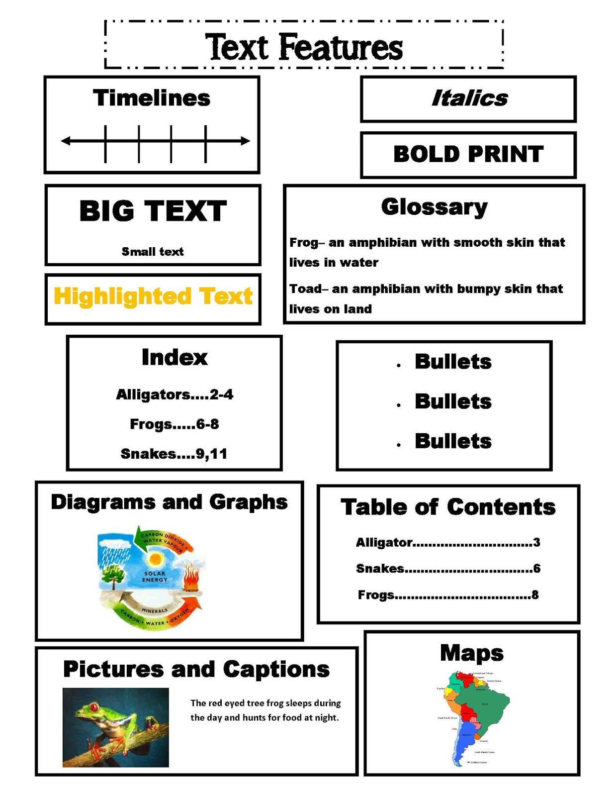 Mrs  Wagner U0026 39 S Class  Nonfiction Text Features