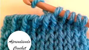 Aprendemos a tejer el Punto Tejido en Crochet Tunecino / Video Tutorial