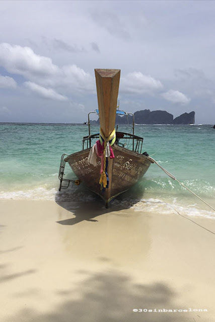 Longtail boat, Thailand