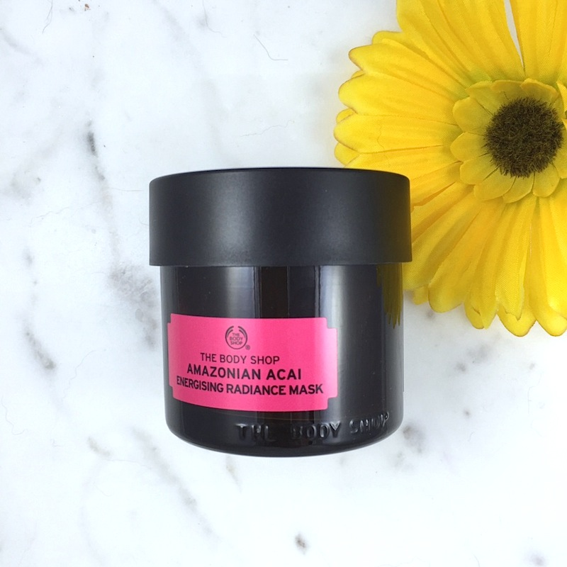 The Body Shop Amazonian Acai Energizing Radiance Mask: A quick review