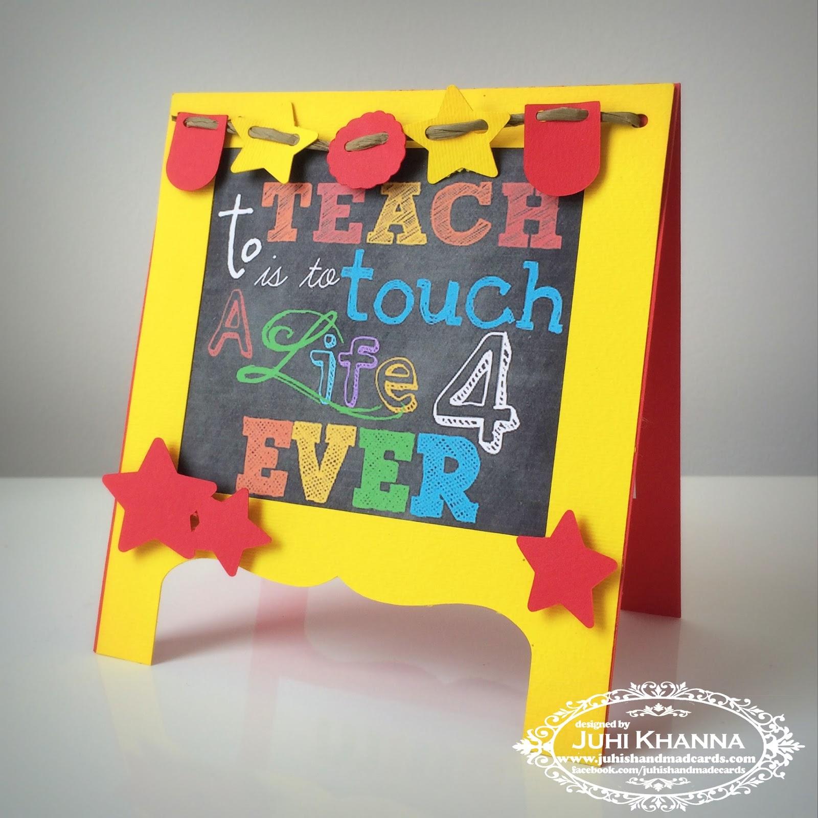 Juhi S Handmade Cards Happy Teachers Day