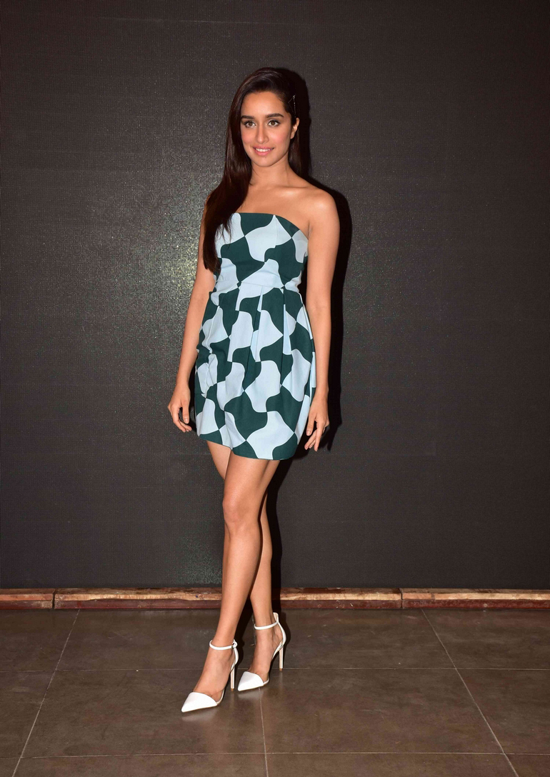 Actress Sharaddha Kapoor Photos At Baaghi Film Get Ready To Fight Song Launch Celebsnext Telugu Actres Thunder