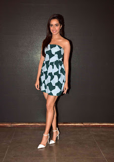 Actress Sharaddha Kapoor Pictures at Baaghi Film Get Ready to Fight Song Launch  0002