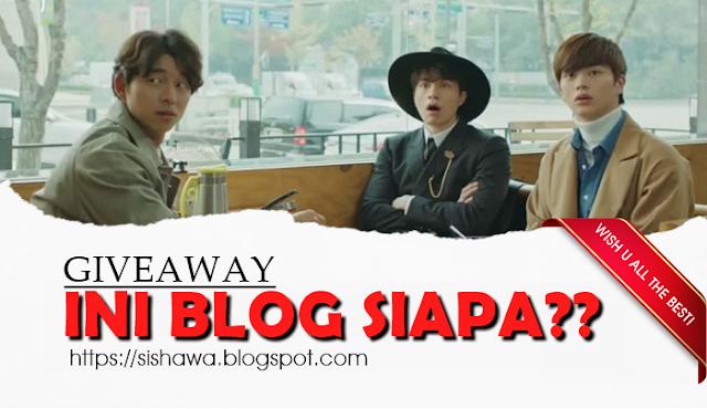 Giveaway: Ini Blog Siapa?