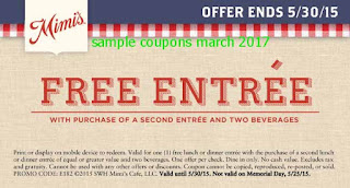 Mimis Cafe coupons march 2017