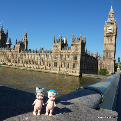 Sonny angel cat and blowfish see Big Ben