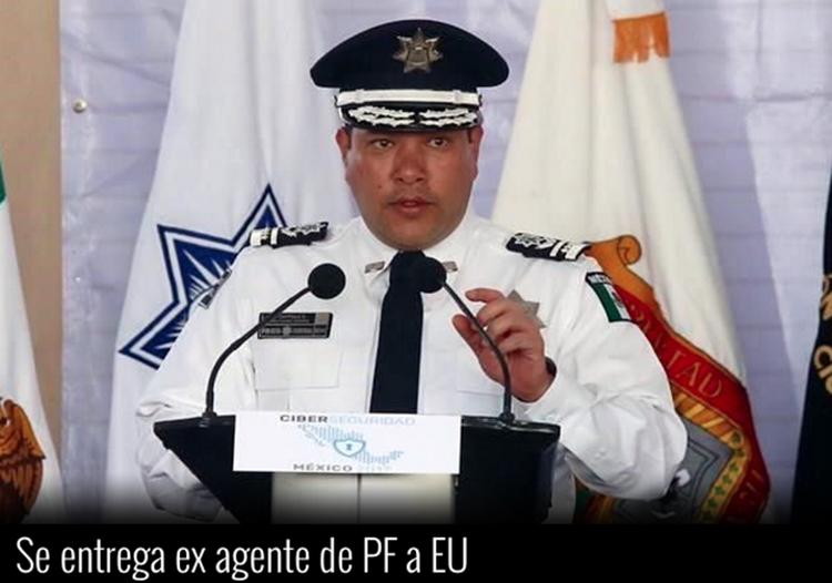 """SE ENTREGA A E.U EX-AGENTE DE INTELIGENCIA DE LA POLICIA FEDERAL,TRABAJABA PARA LOS """"BELTRAN LEYVA"""""""