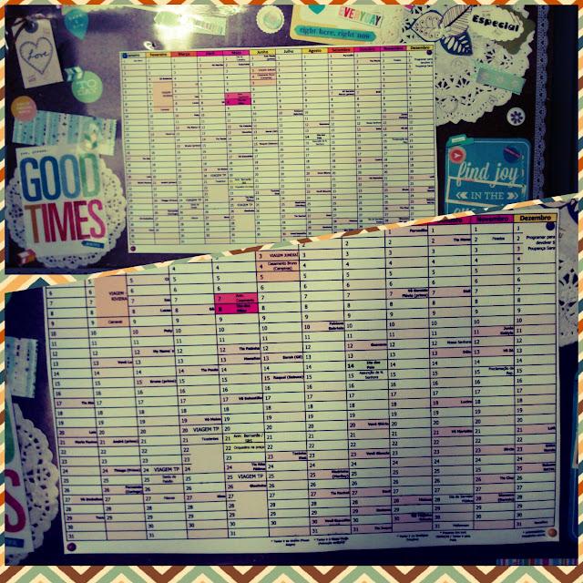 O calendário anual que funciona por aqui
