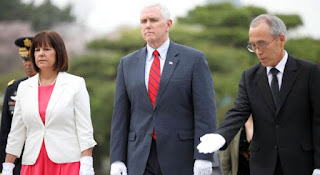 Wakil Presiden (Wapres) Amerika Serikat (AS) Mike Pence