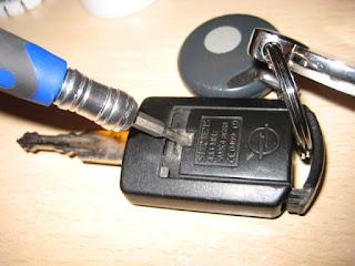 Riparazione chiave codificata auto