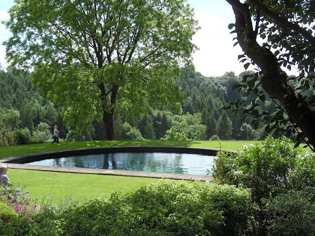 nowoczesne oczko, basen
