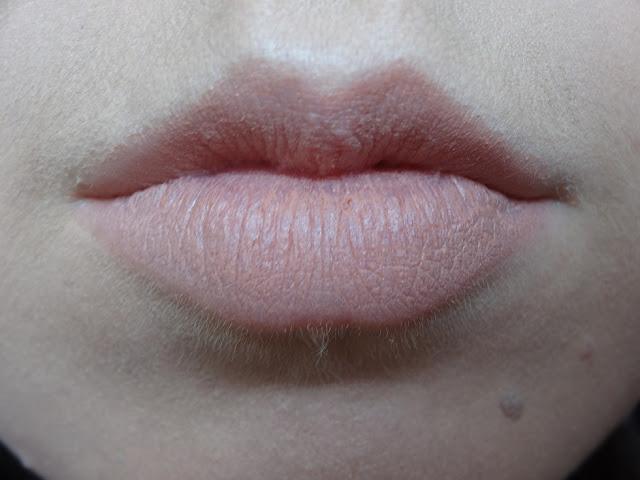 MUA Matte Lipstick Totally Nude Review 2