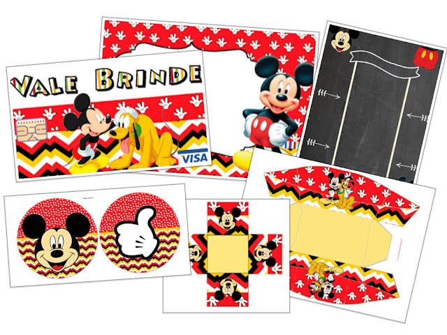 Kit Completo Do Mickey