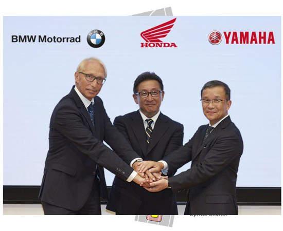 BMW Honda dan Yamaha kerjasama bidang C-ITS