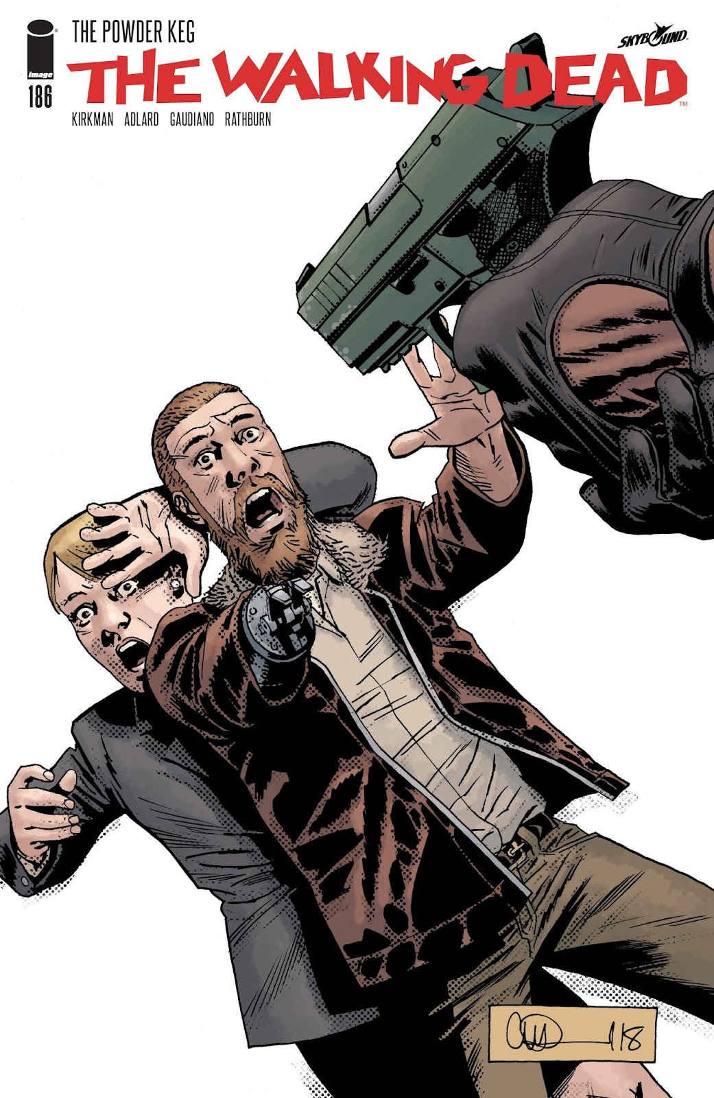 The Walking Dead 186 Page 1
