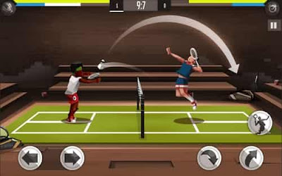 Download Game Bulutangkis Liga MOD APK v1.5.3103 for Android Full Hack Unlimited Money Terbaru 2017