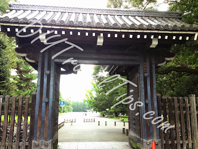 Inui Gomon Gate to Imperial Household Agency