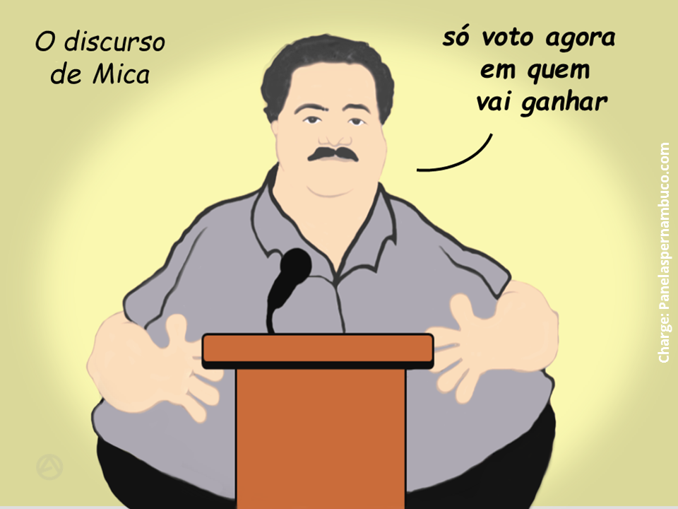 O discurso do vereador Mica - Panelas/PE